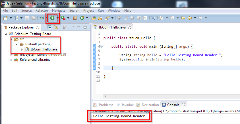 Tutorial_SE_1.080.Eclipse_start_Selenium_Play-Button
