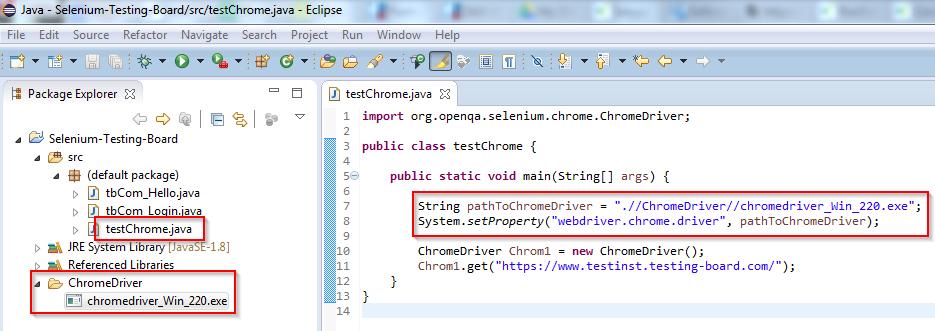 Tutorial_SE_1.120.Status_Selenium_Projekt_mit_ChromeDriver_2