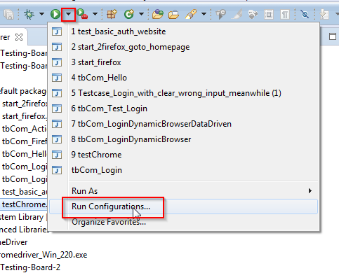 Tutorial_SE_1.130.Eclipse_Run_Configurations