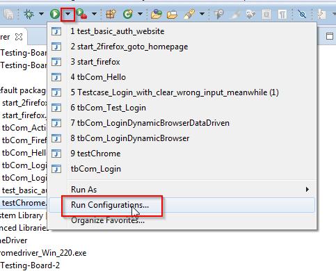 Tutorial_SE_1.130.Eclipse_Run_Configurations